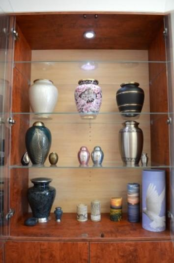Thorak Regional Cemetry Cabinet with Urns